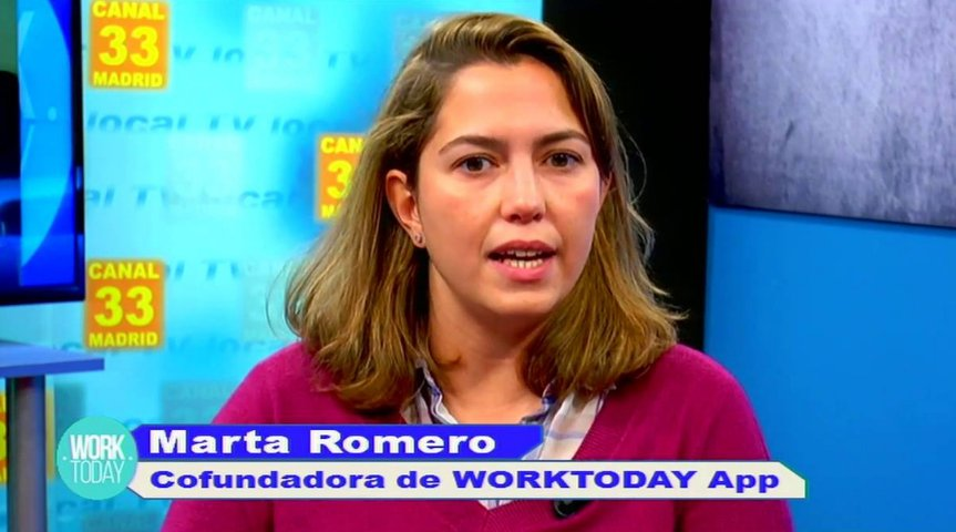 Entrevista a Marta Romero, cofundadora de Work Today App